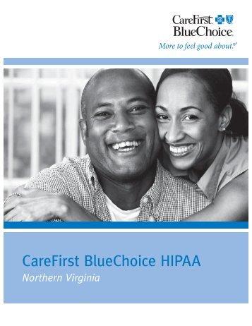 CareFirst BlueChoice HIPAA - eHealthInsurance