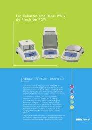 Product brochure SPANISH FINAL.indd - Adam Equipment