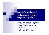 Renal Osteodistrofi tedavisinde fosfor bağlayıcı ajanlar
