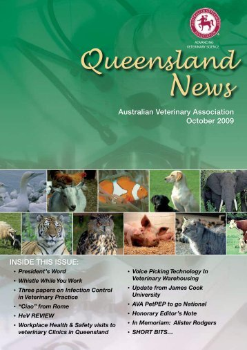 Queensland News - Australian Veterinary Association