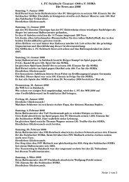 1. FC Sulzbach (Taunus) 1948 e.V. SOMA Die News aus 2006 Seite ...