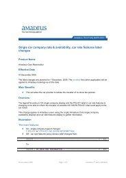 2009-11-02 THIRD PARTY - Single car company rate ... - Amadeus