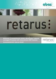 retarus managed Prozesse mit innovativem ERP-System