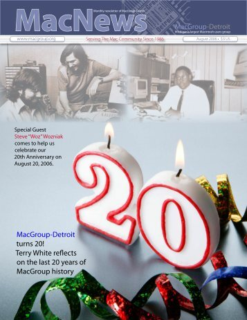 MacNews 20th Anniversary Issue - MacGroup-Detroit
