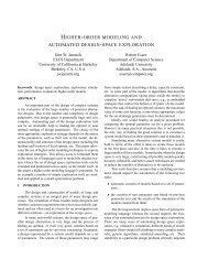 higher-order modeling and automated design-space exploration