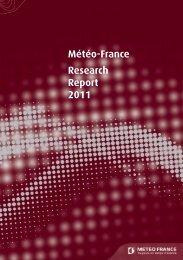 1 - Centre National de Recherches Météorologiques - Météo France