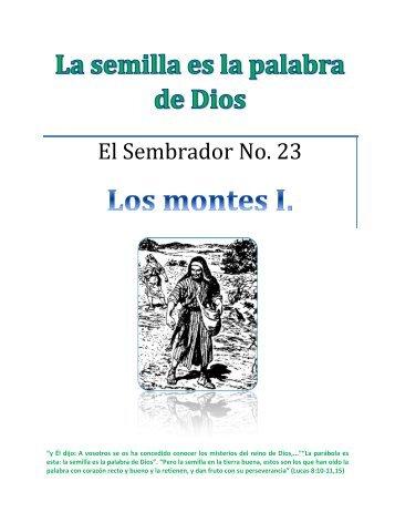 Los montes.pdf - IGLESIA DE CRISTO - Ministerios Llamada Final ...