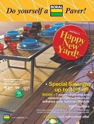 SAVE 15% - Backyard Inspirations