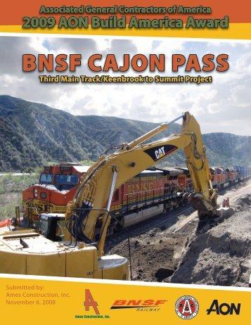 BNSF CajoN PaSS - US-Railroad-Shop