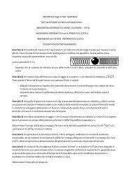 Prova d'esame del 4 febbraio 2011 - Sapienza