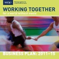 Business Plan 2011-15 - Wrap