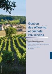 Gestion des effluents et déchets viticoles - La Chambre d'Agriculture ...