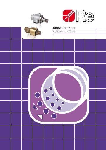 GIUNTI ROTANTI ROTARY UNIONS - industrial solution