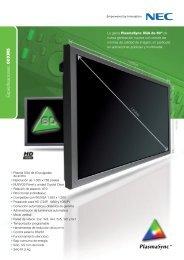 Especificaciones: 60XM5 - Dimasa