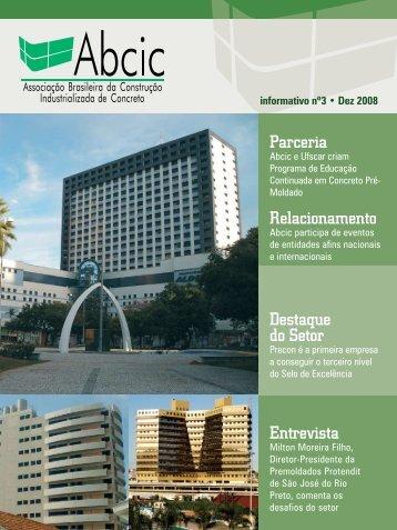 Parceria Relacionamento Destaque do Setor Entrevista - ABCIC