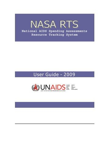 National AIDS Spending Assessments Resource Tracking ... - unaids