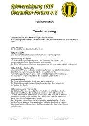 SpVgg Oberaußem Fortuna 1919 eV Werner Lehmann Turnier 2011 ...