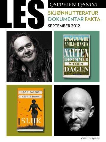 Skjønnlitteratur, dokumentar og fakta [pdf] - Cappelen Damm