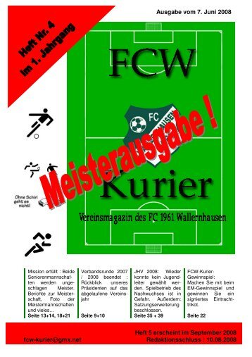 Download von Heft 2008/4 - fcw-kurier.de