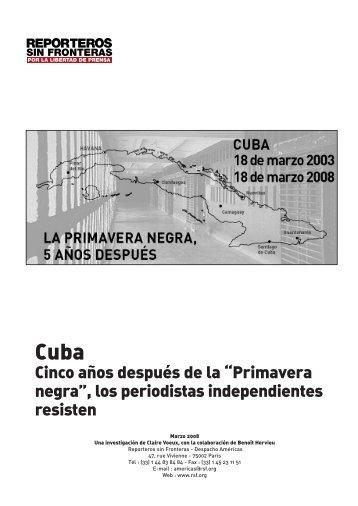 """Cinco años después de la """"Primavera negra"""", los periodistas ... - SIP"""