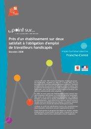 Point sur n° 58 DOETH 2008 - Franche-Comté - Direccte