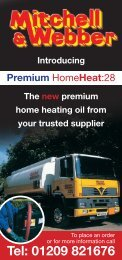 Download our HomeHeat leaflet - Mitchell & Webber