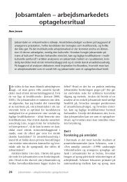 Jobsamtalen – arbejdsmarkedets optagelsesritual - Nyt om Arbejdsliv