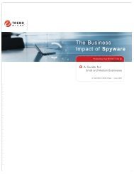 The Business Impact Of Spyware - Zift Solutions
