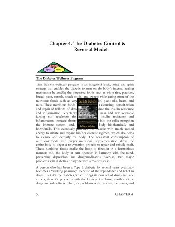 Chapter 4. The Diabetes Control & Reversal ... - Death to Diabetes