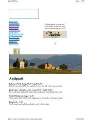 Antipasti - Woodlands Online