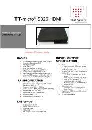 TT-micro® S326 HDMI