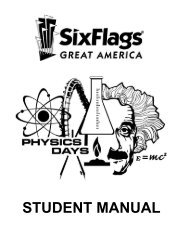 Physics Day Student Manual 06 - Jones College Prep