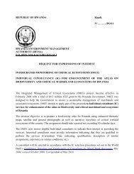 REPUBLIC OF RWANDA Kigali, N°………./PO/11 RWANDA ...