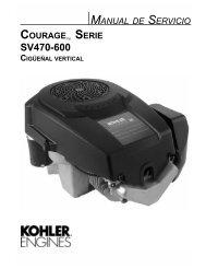 Español - Kohler Engines
