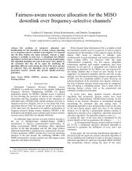 Fairness-aware resource allocation for the MISO downlink over ...