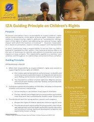 IZA Guiding Principle on Children's Rights - International Zinc ...