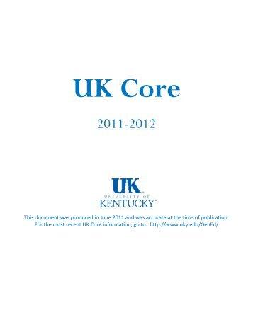 UK Core - University of Kentucky