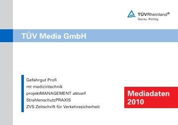ZVS Zeitschrift für Verkehrssicherheit - TÜV-Verlag GmbH