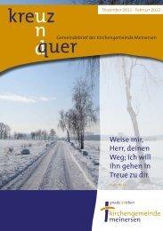 Ausgabe 1/2012 - Ev.-luth. Kirchengemeinde Meinersen