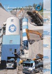 Preisliste 2010 oberrauch.ch - OBT Oberrauch + Co.