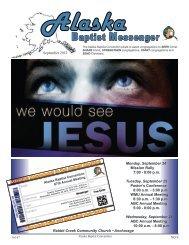 September 2012 for the web.pdf - Alaska Baptist Convention