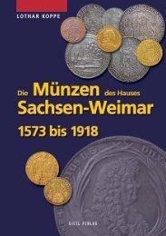 Die Münzen des Hauses Sachsen-Weimar - Gietl Verlag