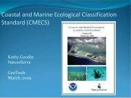 Coastal and Marine Ecological Classification ... - GeoTools - NOAA
