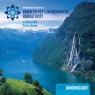 Download 1st announcement (pdf) - Radioecology