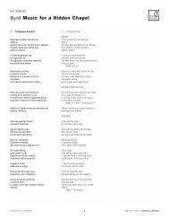 5182 Sung Text - Harmonia Mundi