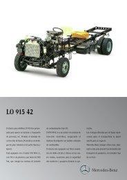 LO 915-42 CM Euro III - Mercedes Benz