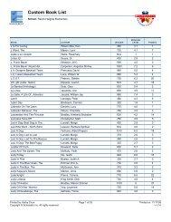 Custom Book List (Page 3) - Bartlesville Public Schools