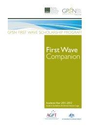 GPSN First Wave Scholarship Program - School of Medicine
