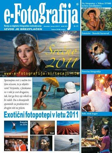 Exotični fotopotepi v letu 2011 Srečno 2011 - e-Fotografija
