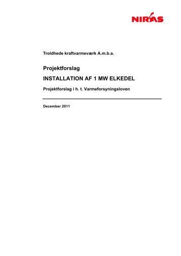 Projektforslag Installation af 1 MW elkedel.pdf - Ringkøbing-Skjern ...